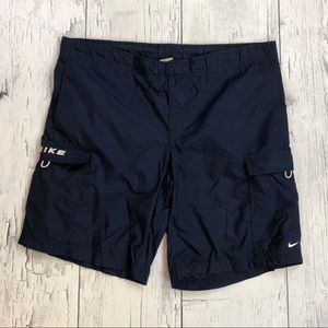 Vintage Y2K Nike spellout shorts